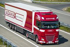 DAF XF106 SSC | Adamax (PL) (Wawrzyn) Tags: daf adamax hollandstyle holland poland onlywayisdutch truck truckspotting tuning style nlstyle trailer passion photography nikon d3300