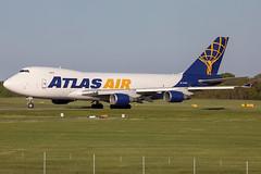 N419MC // AtlasAir // B747-48E(F) // Stansted (SimonNicholls27) Tags: n419mc atlasair 747f boeing74748ef stn egss stansted