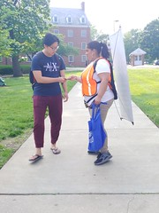 ITA_IDC_SHA_UMDWalksmartRt1_051819_03 (Idle Time Ads) Tags: streetteam publicoutreach itapromotions idletimeadvertising maryland washington dc virginia pedestriansafety universityofmaryland collegeparkwalksmart sha mdot