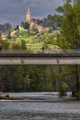 Unusual views in the city (Luca Nacchio) Tags: borgo savignano fiume panaro vignola primavera 2019 emilia italia ponte rive villages river spring italy bridge