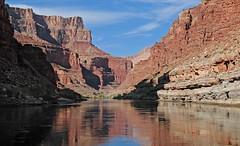 Morning on the River / Grand Canyon (Ron Wolf) Tags: grandcanyonnationalpark nationalpark landscape arizona river canyon coloradoriver reflection explore