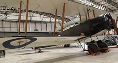 SE5 REPLICA YORKSHIRE AIR MUSEUM ELVINGTON (toowoomba surfer) Tags: biplane aviation aircraft museum airmuseum aviationmuseum