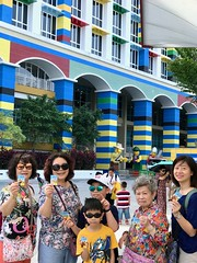 Legoland Malaysia (camike) Tags: auntie family group mil mom parks portrait so 弟 晞 malaysia lego
