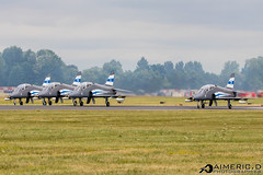 Midnight Hawks - Finnish Air Force (Aimeric D. Photographies) Tags: avion plane planes spotter airshow riat fairford