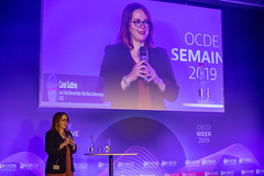 2019 OECD Forum : 15/15 Talk - Weaponising the Past: How Politicians Use Nostalgia to Win Elections (Organisation for Economic Co-operation and Develop) Tags: 1515talkweaponisingthepasthowpoliticiansusenostalgia 2019oecdforum carolguthrieheadofpublicaffairsandmediaoecd ocde oecd paris france 1515talkweaponisingthepasthowpoliticiansusenostalgiatowinelections carol guthrie head public affairs media