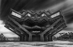 A Cathedral of Knowledge (ihikesandiego) Tags: geisel library ucsd university california san diego la jolla black white photography