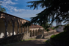 In Castello (paolo-p) Tags: udine nuvole clouds alberi trees ombre shadows