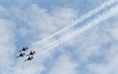 USAF Thunderbirds (ep_jhu) Tags: xt3 provia aircraft airplane flying formation fujifilm falcon airforce thunderbirds andrewsafb andrewsairforcebase legendsinflight fuji airshow f16 military 2019 usaf jointbase andrewsfield maryland unitedstatesofamerica