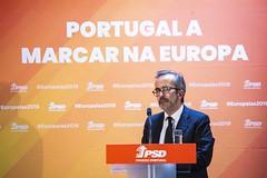 #Europeias2019: Paulo Rangel no distrito de Leiria