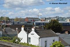 078 approaches Connolly, 11/5/19 (hurricanemk1c) Tags: railways railway train trains irish rail irishrail iarnród éireann iarnródéireann 2019 generalmotors gm emd 071 dublin connolly 078 1210heustonbelfastlanyonplace