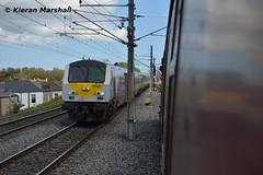 9001 approaches Connolly, 11/5/19 (hurricanemk1c) Tags: railways railway train trains irish rail irishrail iarnród éireann iarnródéireann 2019 enterprise northernirelandrailways nir dedietrich dublin connolly 9001 1035belfastlanyonplacedublinconnolly
