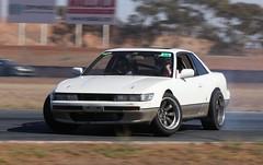 Nissan S13 (Runabout63) Tags: nissan s13 drift mallala