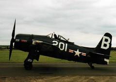 1948 Grumman F8F-2P Bearcat 121714 / G-RUMM - Flying Legends 1998 - Duxford (anorakin) Tags: 1948 grumman f8f2p bearcat 121714 grumm flyinglegends 1998 duxford
