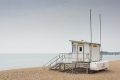 Seaside - Lifeguard (julieloolibelle15) Tags: hastings 2019 may seaside shootfromthehip streets streetphotography england tradition documentary beach lifestyle summer towns people lifeguard bird pebbles