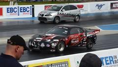 (Sam Tait) Tags: mitsubishi fto dragster doorslammers santa pod raceway seat ibiza diesel