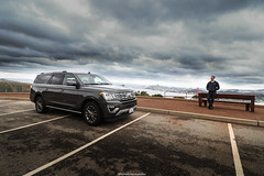 The American Dream. (Mitchell Hermanides) Tags: ford expedition xlt limited v6 turbo 4x4 suv usa truck san francisco california californie view gold golden gate bridge america amerika parking skyline bench selfie canon eos 77d 11mm mitchell hermanides bay nike