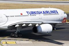 Turkish Airlines A330-343E (Gideon van Dijk) Tags: dus eddl düsseldorf düsseldorfinternationalairport duitsland aviation aircraft airport airplane airlines vliegtuig vliegveld luchtvaart luchthaven plane planes planespotting nikon nikond7200 d7200 dusseldorf dusseldorfairport düsseldorfairport