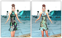 LuceMia - JUMO Originals at On9 Event (2018 SAFAS AWARD WINNER - Favorite Blogger -) Tags: jumo jumooriginals hair delilah dress floreal event on9event ferrara photowalk people person woman color coulor minimalism sl secondlife mesh fashion creations blog beauty hud colors models lucemia