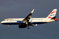 G-EUYV_06 (GH@BHD) Tags: geuyv airbus a320 a320200 a320232 ba baw britishairways speedbird shuttle unionflag aircraft aviation airliner bhd egac belfastcityairport
