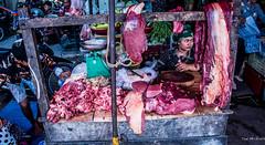 2019 - Cambodia - Sihanoukville - Phsar Leu Market - 4 of 25 (Ted's photos - Returns late November) Tags: 2019 cambodia cropped nikon nikond750 nikonfx tedmcgrath tedsphotos vignetting phsarleumarket phsarleumarketsihanoukville sihanoukvillephsarleumarket sihanoukville sihanoukvillecambodia meat butcher red redrule