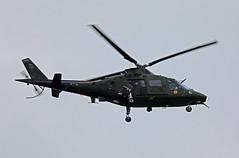 Gloomy Agusta (crusader752) Tags: belgianairforce 1stairwing agusta a109bai shorehamairport 25years