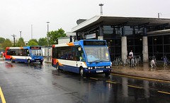 Solos at the double (Chris Baines) Tags: stagecoach optare solo ashford international railway station
