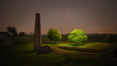 Not All Mine (FadeToBlackLP) Tags: magpiemine longexposure lightpainting tree night drone lumecube fromabove landscape peakdistrict