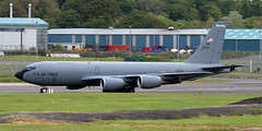 58-0023 (PrestwickAirportPhotography) Tags: egpk prestwick airport usaf united states air force boeing kc135 stratotanker 580023 new hampshire national guard