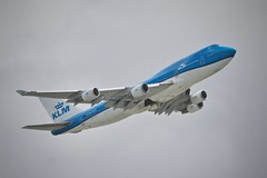 KLM Royal Dutch Airlines 1993 Boeing 747 PH-BFN c/n 26372 departing San Francisco Airport 2019. (17crossfeed) Tags: klm royaldutchairlines phbfn 26372 sfo sanfranciscoairport unitedairlines airport aviation airplane pilot planes planespotting plane 747 747400 boeing claytoneddy 17crossfeed flying flight maintenance landing lufthansa deltaairlines americanairlines southwestairlines