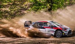 TGR WRC PET - Meeke (Pedro @lves) Tags: toyota wrc meeke mondim basto mondimdebasto rally dust nature rallye portugal photography nikon d3200 yaris