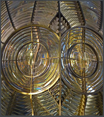glass and mirrors #70 (Lovetostitch) Tags: 119for2019 70of119 luminous glass shiny lighthouse mirrors reflective lighthousemuseum fraserburgh scotland