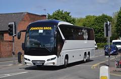 OY67 DXS: Johnson, Hodthorpe (chucklebuster) Tags: oy67dxs johnsons neoplan tourliner retford highland coaches