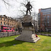 BELFAST CITY HALL FEATURES MANY STATUES AND MEMORIALS [ ROYAL IRISH RIFLES MEMORIAL]-152787