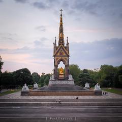 Albert Memorial (amipal) Tags: 175mm albert albertmemorial capital city england gb greatbritain kensingtongardens london manuallens royalalberthall statue uk unitedkingdom urban voigtlander