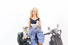 Manuelle Paris (halscary) Tags: barbie boneca doll royalty fashion toys integrity infusion color fair parker poppy