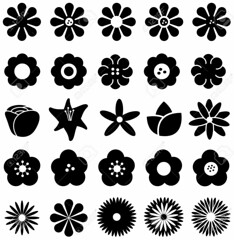 Silhouette (s.graggaber) Tags: flower icon rose tulip sunflower daisy silhouette sakura star fantasy flora floral blackandwhite bloom blooming blossom blossoming nectar pollen collection creative cute geometric geometry decor decoration decorative design florist snow snowflake winter forest illustration imagination isolated isolation lotus natural nature petal plant season set shape sign symbol tropical wilderness wood zinnia art vector
