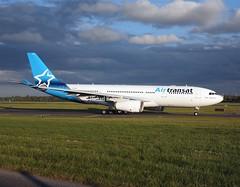 Air Transat                                      Airbus A330                                     CGUFR (Flame1958) Tags: 9787 airtransat airtransata330 cgufr airbus a330 330 airbusa330 dub eidw dublinairport 200519 0519 2019 a6ekr gtccg daecapitol iacdublin iac internationalaerospacecoatings