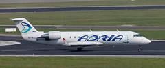 CRJ | S5-AAJ | BRU | 20110430 (Wally.H) Tags: bombardier canadair regionaljet crj crj200 s5aaj adriaairways bru ebbr brussels zaventem airport