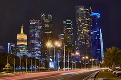 Doha - Qatar (Joao Eduardo Figueiredo) Tags: doha skyline qatar nikon nikond850 d850 joaofigueiredo joaoeduardofigueiredo joão joao eduardo figueiredo skyscraper corniche architecture