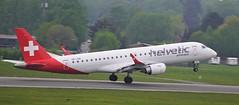 HB-JVM 2019-04 Helvetic E70 Ham (Danner Poulsen) Tags: 20190430 hbjvm 201904 helvetic e70 ham airlines embraer erj175 april 2019 fuhlsbüttel hamburg eham