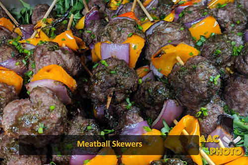 """Meatball Skewers • <a style=""""font-size:0.8em;"""" href=""""http://www.flickr.com/photos/159796538@N03/47843276471/"""" target=""""_blank"""">View on Flickr</a>"""