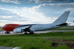 ex. TNT (ASL Airlines) Boeing 747-400F [OO-THA] - Cargolux - Future Reg. LX-MCL (David Siedler) Tags: cargolux boeing boeing747 boeing747400f b747 lxmcl tnt aslairlines ootha luxembourg findel airport luxembourgairport findelairport luxellx