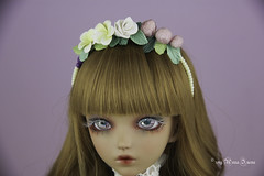 Custom flower headband YOSD (AnnaZu) Tags: flower hedband art custom annazu annaku vesnushkahandmade commission poymer clay sculpting magnetic doll bjd abjd balljointed fairyland minifee fairyline alicia