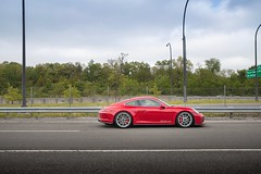 Red Touring (nyccars) Tags: scenic red sports cars car manual touring gt3 991 911 porsche pts