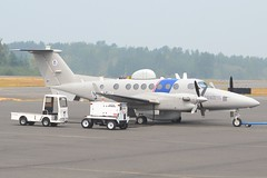 N164FM (LAXSPOTTER97) Tags: department homeland security united states textron aviation king air n164fm cn fm64 350c airport kbli airplane