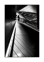 On Top (Nico Geerlings) Tags: ngimages nicogeerlings nicogeerlingsphotography leicammonochrom 35mm summilux subway station metro architecture silhouette blackandwhite streetphotography