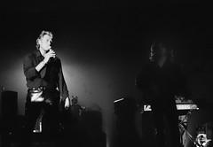 Johnny Hallyday au Palais des Sports de Paris en 1994. (stéphanehébert) Tags: palais sport paris concert privée 1994 pentax z1 johnny hallyday mammouth hypermarché tmax 3200 tmz live rock scène stage silverfast dxo photolab