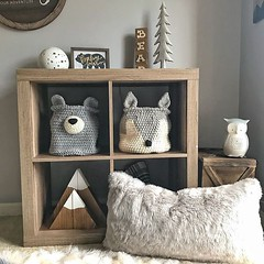 Woodland Nursery Camping room decor by ClaraLoo on Etsy (CoolHomeStyling) Tags: home decor design styling interior