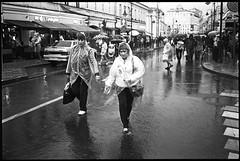 (Igor Baranchuk) Tags: 35mm zeissikon rangefinder voigtlandercolorskopar35mm ilford ilfordpan400 москва street 9may 9мая бессмертныйполк analog film bw rain