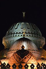 Al Mina Mosque (YVND2PAFWHD3YKTA5BER6U4HS4) Tags: mosque dome islamic holy worship pray nightvision nightphotography nikon nikond3200 nikonartists nikontop attiaphotography attiaawadh ibnatoota travel travelphotography natgeo bbctravel tourism touristic